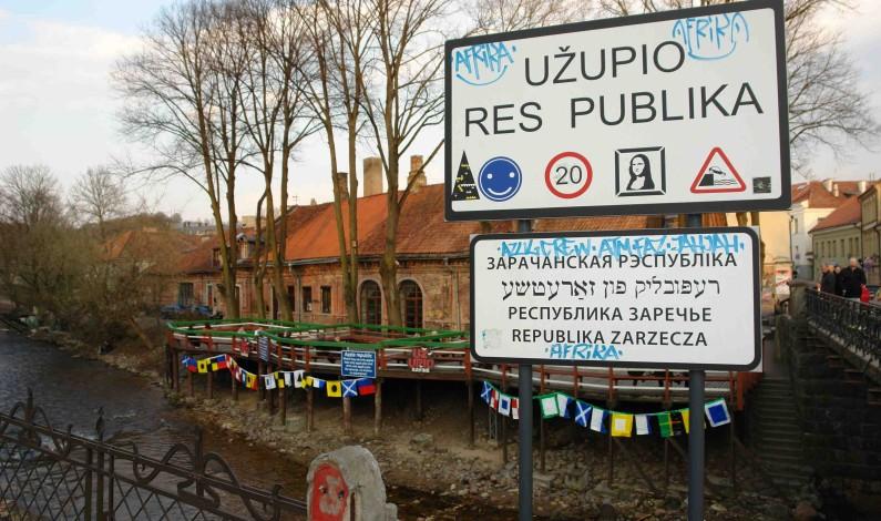 """Uzupis i Vilnius: EUROPAS MINSTE """"REPUBLIKK"""""""