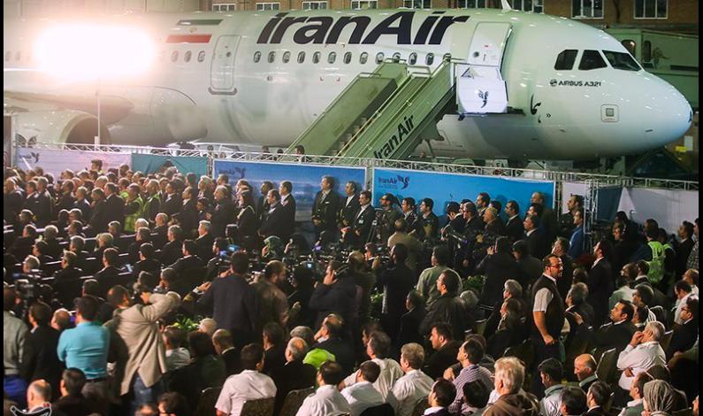 IRAN: ELDGAMMEL FLYFLÅTE  BYTTES UT MED NYE BOEING– OG AIRBUS-FLY
