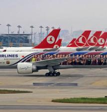 TÜRKISH AIRLINES: HALVERER PILOT-LØNNINGENE
