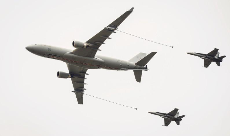 NORGE SPLEISER PÅ  AIRBUS A330 MRTT-FLY