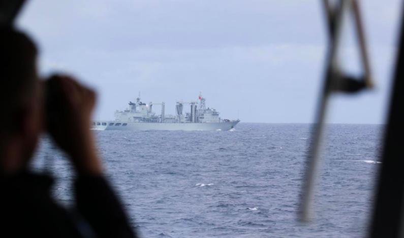 Norsk NATO-flaggskip møtte kinesisk fartøygruppe i Østersjøen