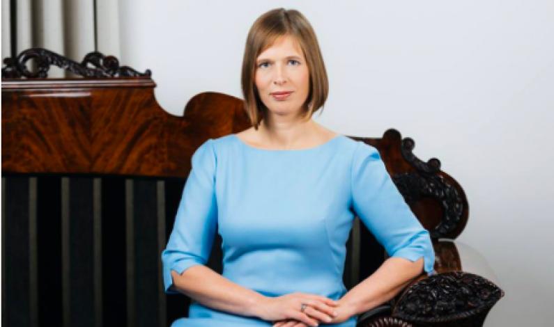 Estland har fått sin første kvinnelige president