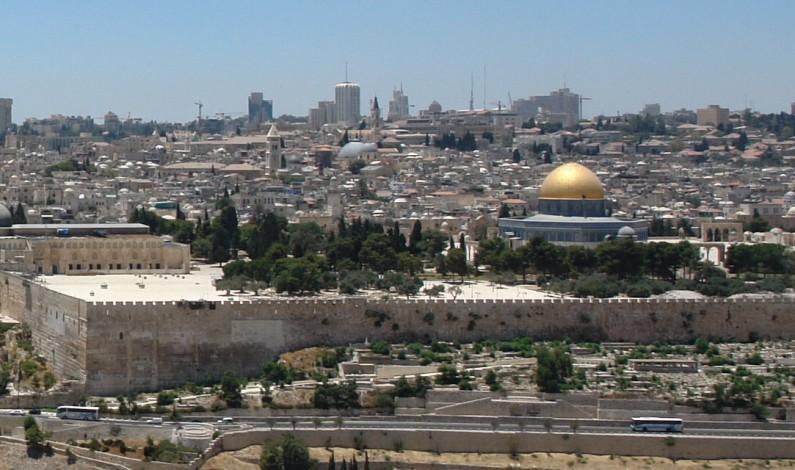 USA-AMBASSADEN PÅ PLASS I JERUSALEM I MAI