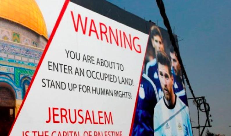 """ISRAEL KLAGER TIL FIFA OVER """"RELIGIØS DISKRIMINERING"""""""