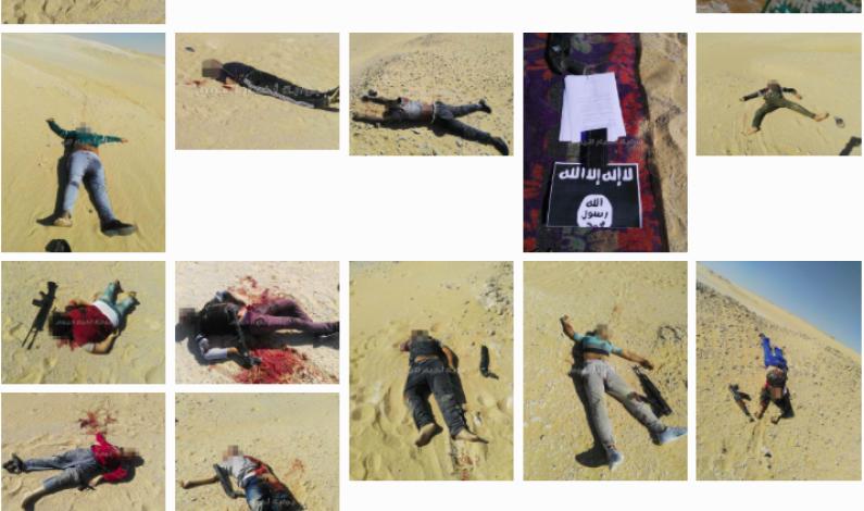 KRISTNE KOPTERE IGJEN RAMMET AV  ISLAMSK TERROR